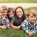 Kimbery's children and nephew Aidan