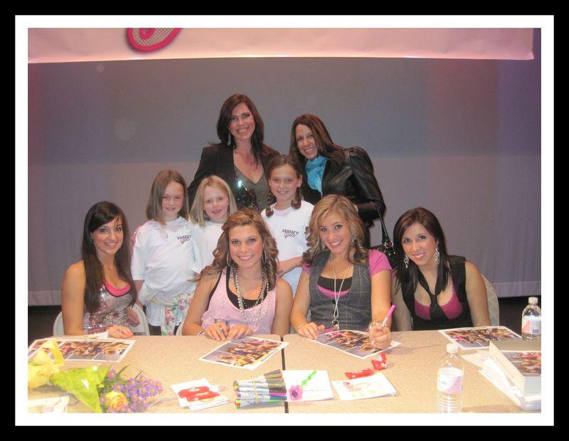 Varsity girls photo