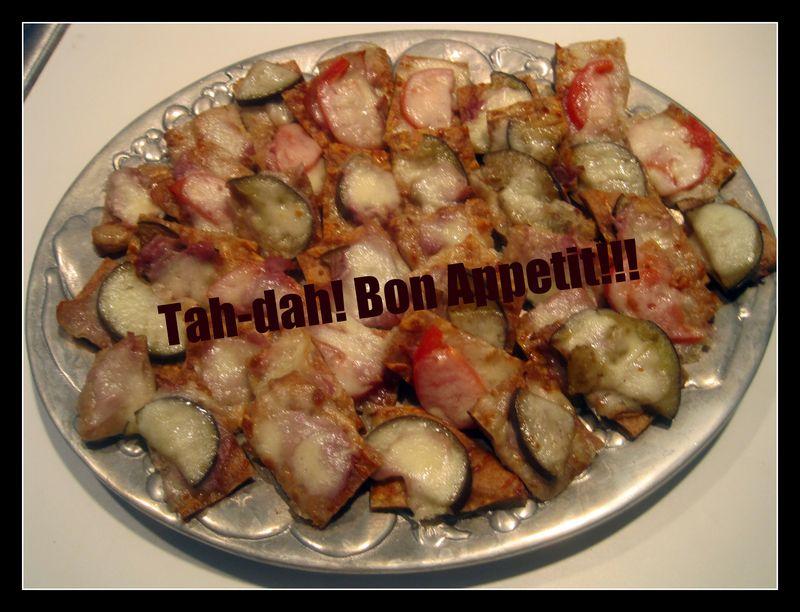 BoBoli Pizza squares