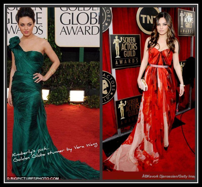 Mila Kunis collage