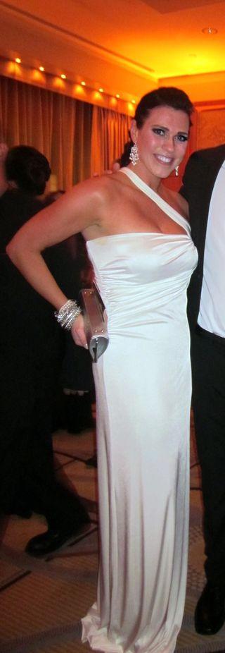 Kim Oscar dress